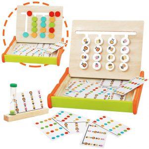 Juguetes Montessori para desarrollar la lógica