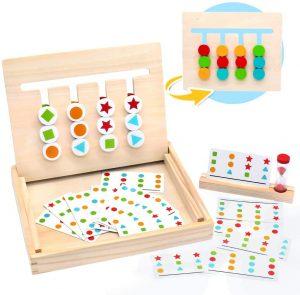Tablero Montessori para puzzles