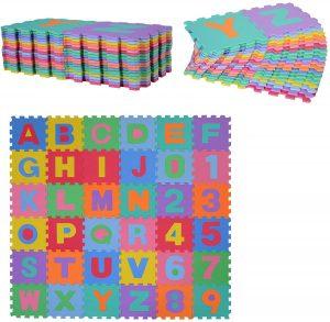 Alfombra puzzle para niños HOMCOM