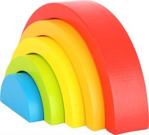 Arcoiris Montessori para bebés