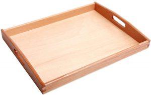 Bandeja rectangular Montessori