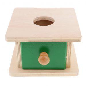 Caja de permanencia Montessori para bebés