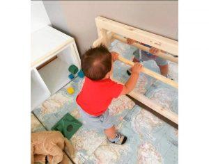 Espejo Montessori de seguridad