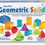 Formas geométricas Transparentes View-Thru