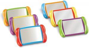 Kit de juguetes con espejo para bebés