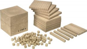 Kit para contar de madera Linex