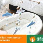 Móviles montessori para bebés