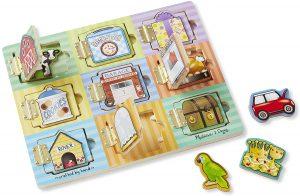 Tablero Montessori para bebés