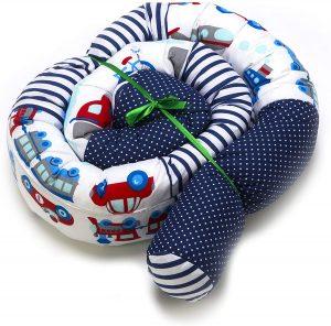 Cojines Montessori en forma de serpiente