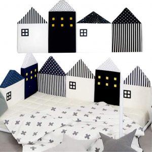 Cojines cobertores para cama Montessori