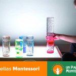 Botellas sensoriales montessori