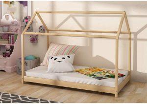 Cama Montessori 80x160 en forma de casita