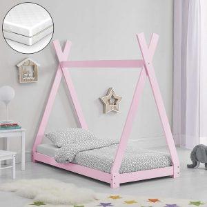 Cama Montessori 70x140 color rosa