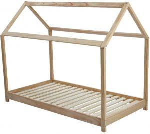 Cama Montessori 80x160 en forma de cabaña