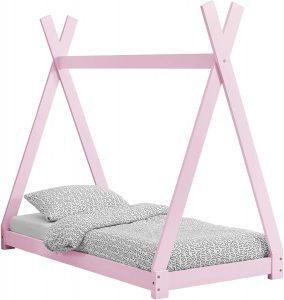 Cama Montessori 80x160 rosada