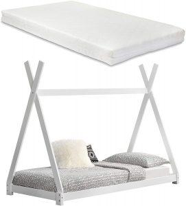 Cama Montessori 90x200 con colchón