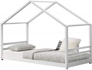 Cama Montessori 90x200 en forma de casita