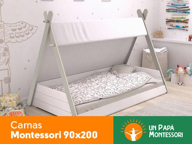 cama Montessori 90x200