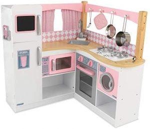Cocina de madera KidKraft Rosa Montessori