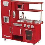 KidKraft Roja Cocina de madera Montessori